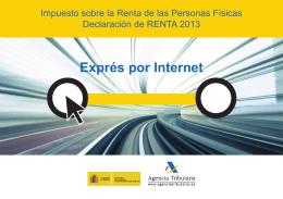 Folleto IRPF. Declaración de Renta 2013