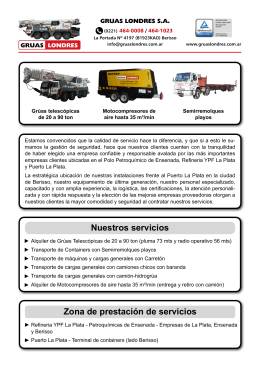 Folleto PDF - GRUAS LONDRES