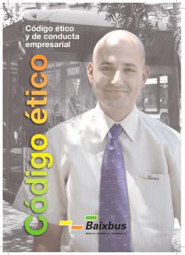 Folleto A5 Código ético.indd