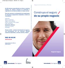 Puede descargarse el folleto de AXA en PDF aqui.