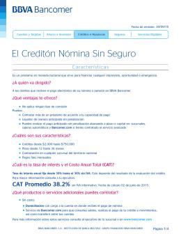 Folleto Creditón Nómina sin Seguro 30_09_15V2