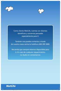 MET 52957-11 Folleto Seguros Colectivos.indd