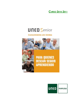 FOLLETO UNED SENIOR 10