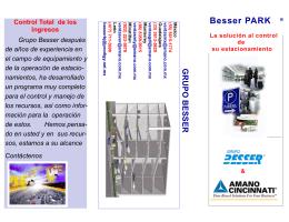 Folleto BesserPark 1