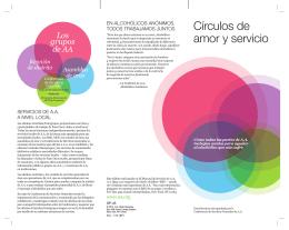 SP-45 Círculo de Amor y Servicio - Cómo todas las partes de A.A. se