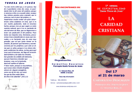 LA CARIDAD CRISTIANA