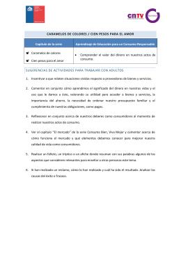 CARAMELOS DE COLORES / CIEN PESOS PARA EL AMOR