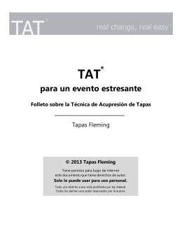 Los pasos de TAT