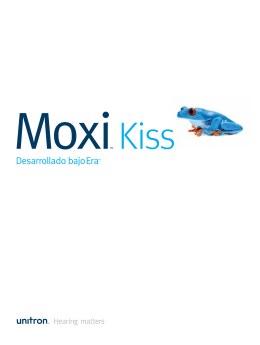 Folleto Moxi Kiss