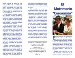 El Matrimonio - Iglesia Católica Apostólica Ortodoxa de la Santísima