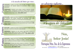 folleto adviento