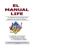 Un Manual de Discipulado Para Miembros de Grupos Celulares