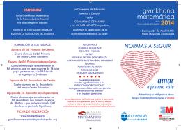 gymkhana matemática 2 410 - Ayuntamiento de Alcobendas