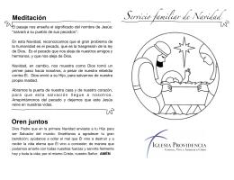 folleto - Iglesia Providencia