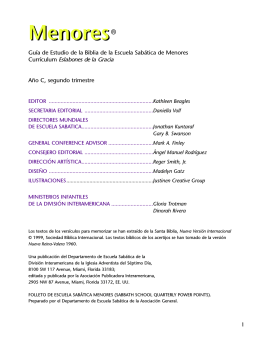 FOLLETO JUVENIL 2