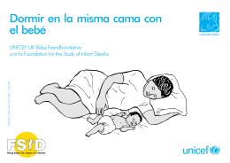 Dormir en la misma cama con el bebé