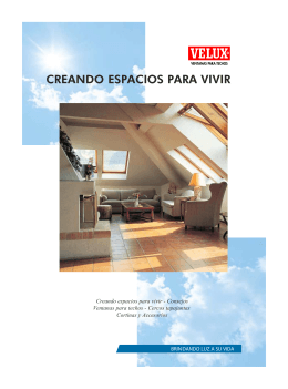 Folleto Productos - Velux