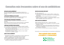 Folleto Antibioticos Para Imp