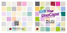 Los colores de este folleto son orientativos, para