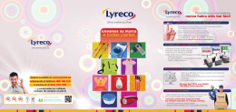 LYRECO folleto interior ESP.indd
