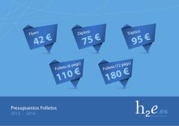 42 € 75 € 95 € 110 € 180 €