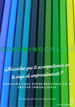 Folleto Coaching online
