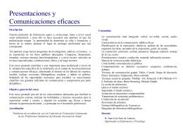 FOLLETO P. Y C. EFICACES - Colegio Oficial de Enfermería de