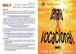 folleto semana - Dominicas de la anunciata