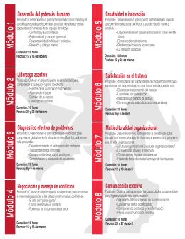 folleto diplomado LIDERAZGO Y CREATIVIDAD
