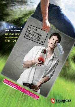 Publicacion para padres y madres sobre el consumo de alcohol