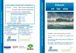 Educar en las olas