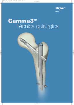 Folleto Gamma 3
