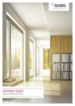 GENEO - Para viviendas perfectas (folleto)