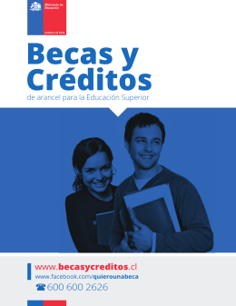Folleto Becas y Créditos 2014