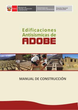 FOLLETO ADOBE FINAL - Ministerio de Vivienda, Construcción y