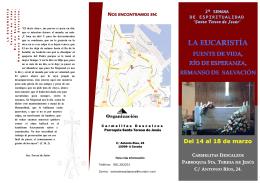 docSEMANA DE ESPIRITUALIDAD-EUCARISTIA