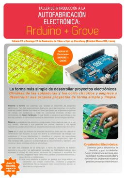 Descarga el folleto con los detalles del taller aquí.