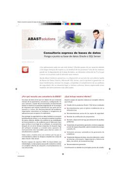 folleto consultoría express de bases de datos.FH11