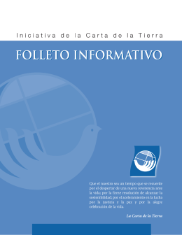 Folleto Informativo de la Iniciativa