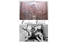 Imprimir folleto de escultura