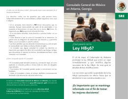 02 Folleto Ley HB56 - Consulado General de México en Atlanta