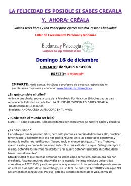 folleto FELICIDAD 16 DICIEMBRE 2012
