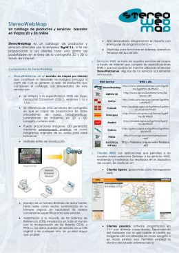 Folleto StereoWebMap