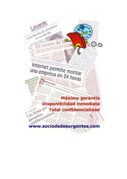 Imprima nuestro folleto informativo del servicio en PDF