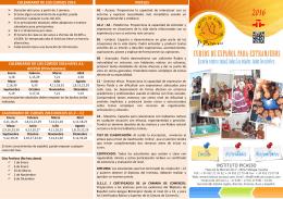 CALENDARIO DE LOS CURSOS 2016 CALENDARIO