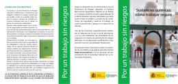 Folleto (pdf, 2,85 Mbytes) - Instituto Nacional de Seguridad e