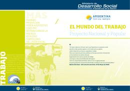 El mundo del trabajo - Ministerio de Desarrollo Social