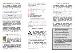 folleto-embarazo y prevencion - Consejería de Sanidad del