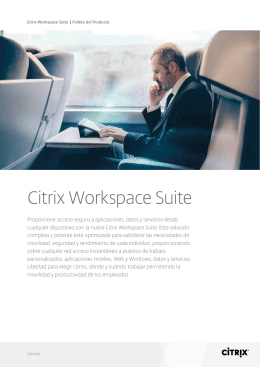 Citrix Workspace Suite