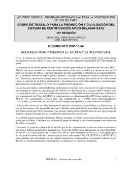 GRUPO DE TRABAJO PARA LA PROMOCIÓN Y DIVULGACIÓN